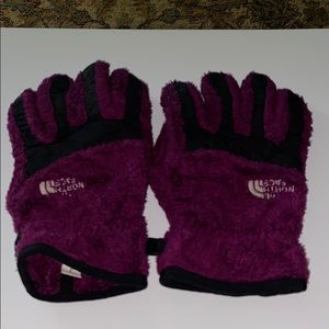 Youth Purple The North Face Gloves
